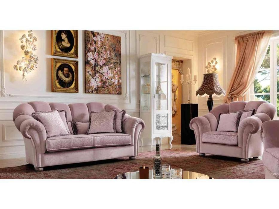 GiorgioCasa: Giulietta e Romeo: диван 2 местный Art. S212 ткань Cat. A