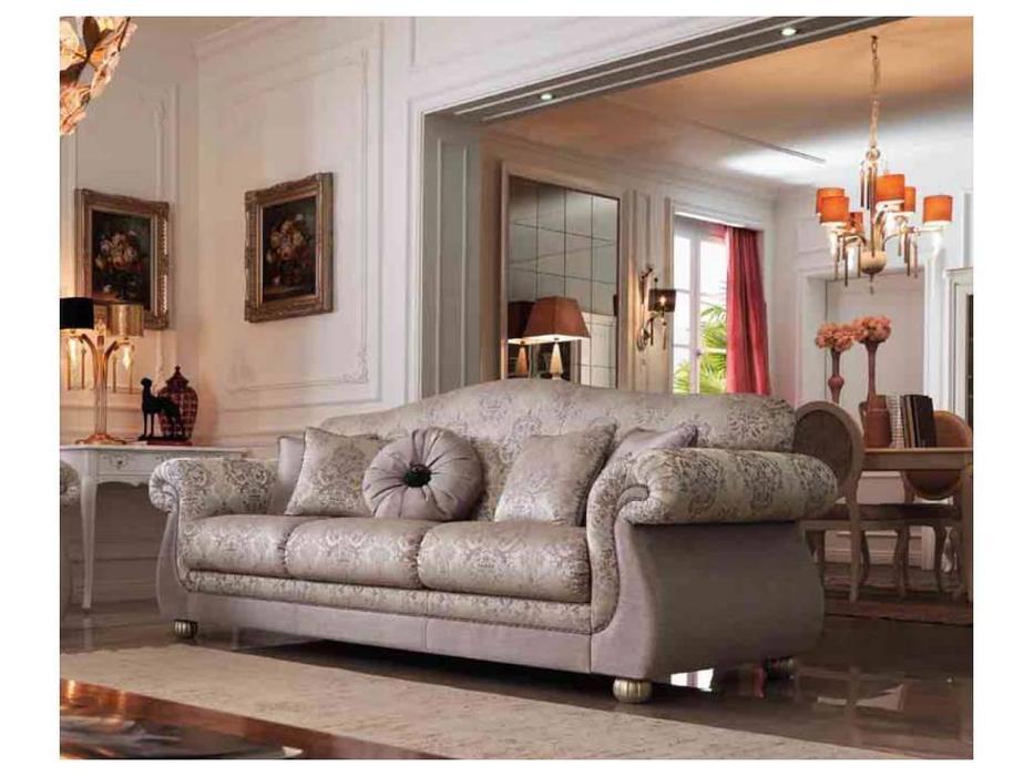 GiorgioCasa: Giulietta e Romeo: диван 3 местный Art. S163 ткань Cat. A