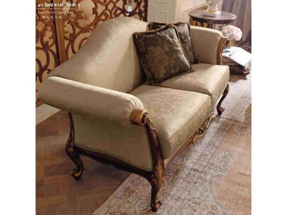 GiorgioCasa: Giulietta e Romeo: диван 2 местный Art. S262 ткань Cat. A