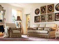 GiorgioCasa: Giulietta e Romeo: диван 3 местный Art. S133 ткань Cat. A
