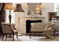 GiorgioCasa: Giulietta e Romeo: диванчик  Art. S232 ткань Cat. A
