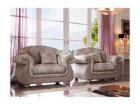 GiorgioCasa: Giulietta e Romeo: кресло Art. S161 ткань Cat. A