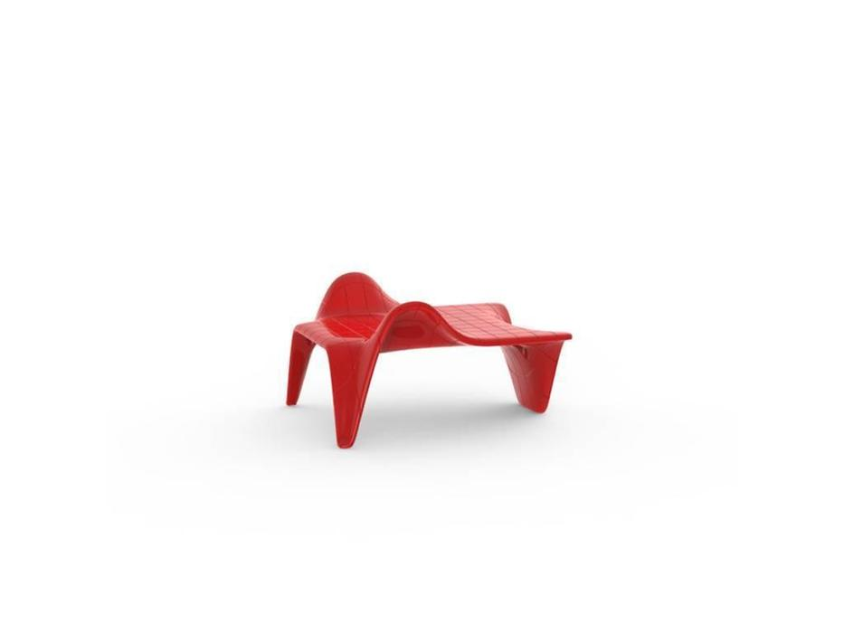Vondom: F3: стол журнальный  (красный)