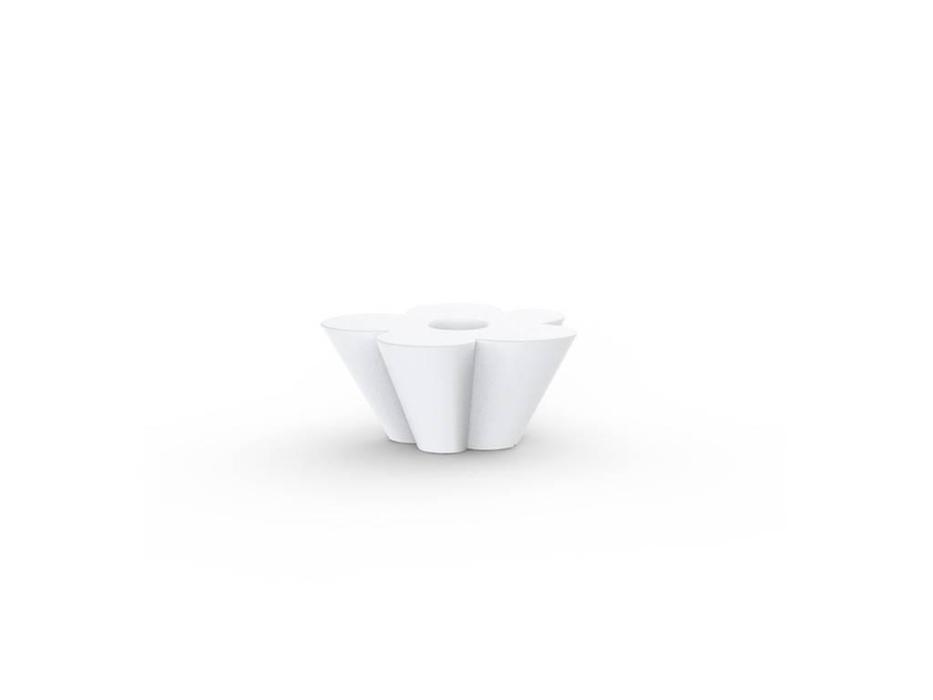 Vondom: Agatha: стол  (белый, красный)