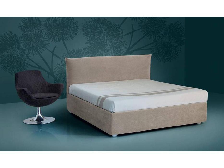 Piermaria: Cloe: кровать двуспальная 160х195 (ткань)