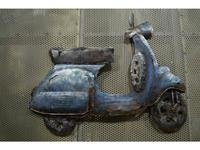 Nature Design: Vespa Blu: Панно  (чеканка)