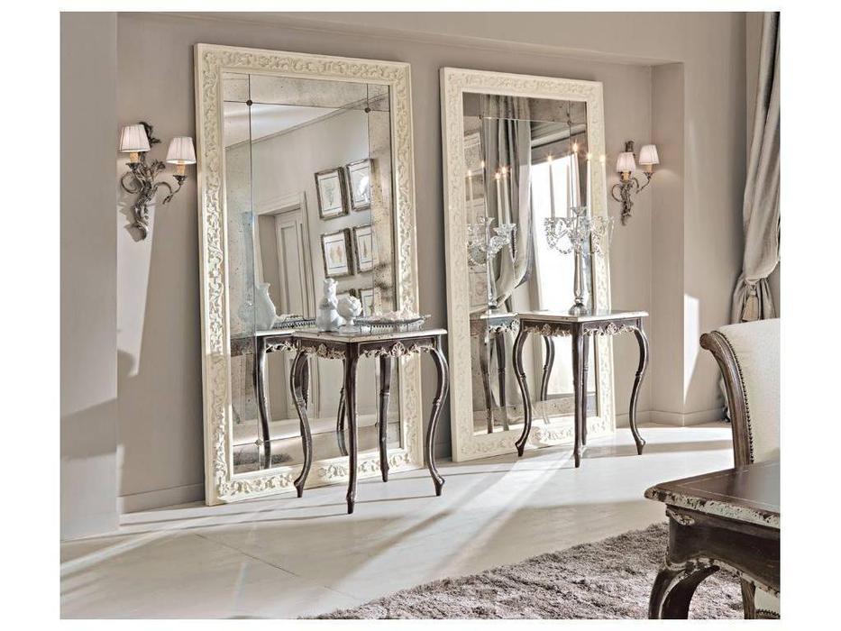 Cafissi: Bellosguardo: зеркало напольное  Gruppo III (белый)