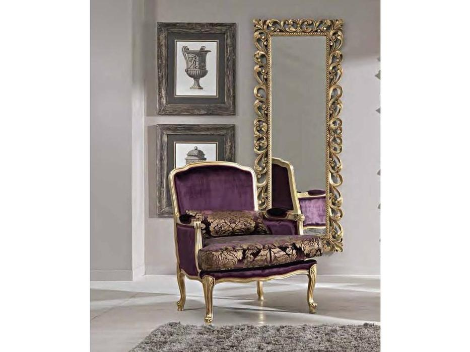 Cafissi: Bellosguardo: кресло  Gruppo I (золото) ткань