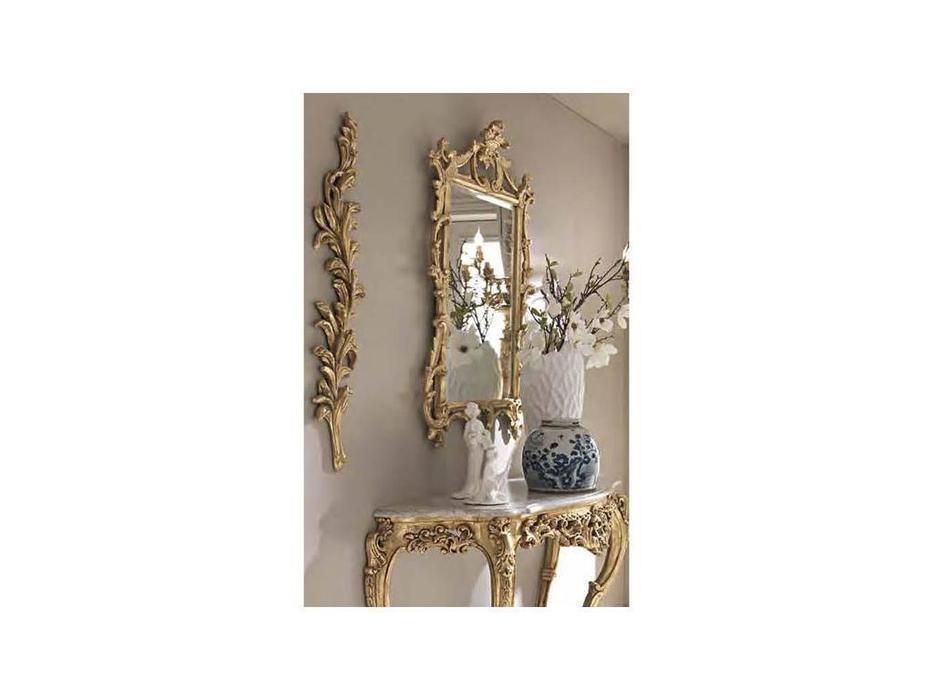 Cafissi: Bellosguardo: зеркало для консоли  Gruppo II (золото)
