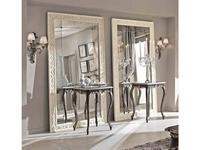 Cafissi: Bellosguardo: стол консольный  Gruppo II (черный с серебром)