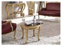 Cafissi: Bellosguardo: стол журнальный  Gruppo III (орех, золото)