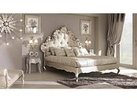 Cafissi: Bellosguardo: кровать 180х200  Gruppo II (серебро) ткань