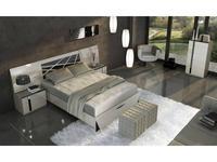 Fenicia Mobiliario: Fenicia: кровать 160х200 с тумбами  (бежевый, эбонит)