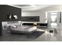 Fenicia Mobiliario: Fenicia: кровать 160х200 с тумбами  (белый, серый)