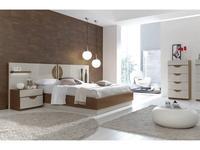 Fenicia Mobiliario: Fenicia: кровать 160х200 с тумбами  (бежевый)