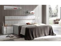 Fenicia Mobiliario: Fenicia: кровать 160х200 с тумбами  (белый, бежевый)