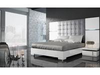Fenicia Mobiliario: Fenicia: спальная комната с кроватью 180х200 (белый, серый)