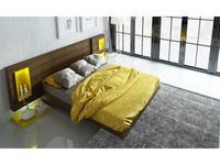 Fenicia Mobiliario: Fenicia: спальная комната с кроватью 160х200 (венге, желтый)
