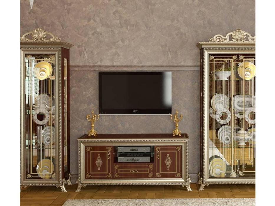 Мэри: Версаль: тумба под телевизор  (орех)