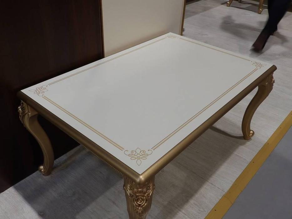 Мэри: Версаль: стол журнальный прямоугольный  (слоновая кость)
