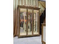 Мэри: Версаль: витрина 3-х дверная  (слоновая кость)