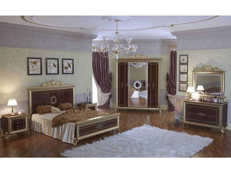 Мэри: Версаль: спальная комната  (орех)