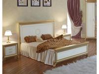 Мэри: Версаль: кровать 160х200  (слоновая кость)