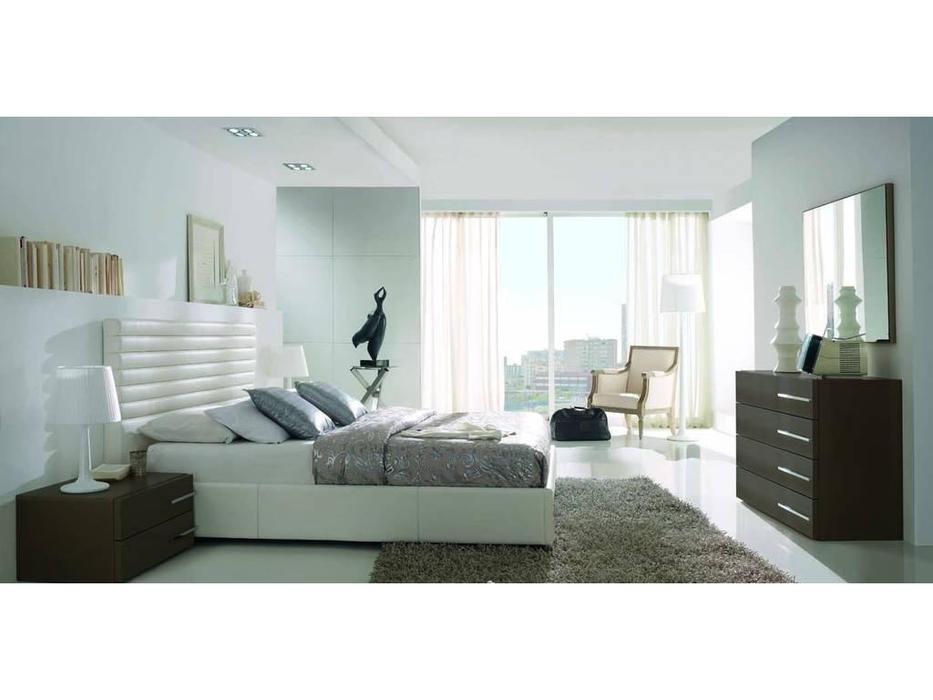 Gamamobel: Alba: кровать 180х200  (белый)