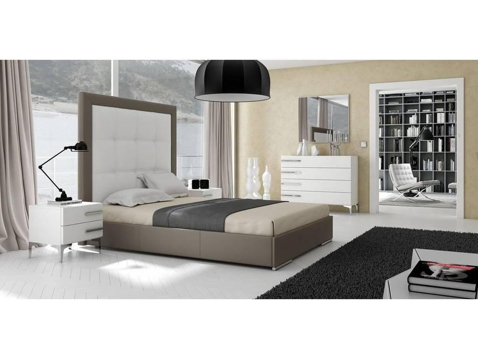 Gamamobel: Emmanuelle: кровать 160х200  (кремовый)