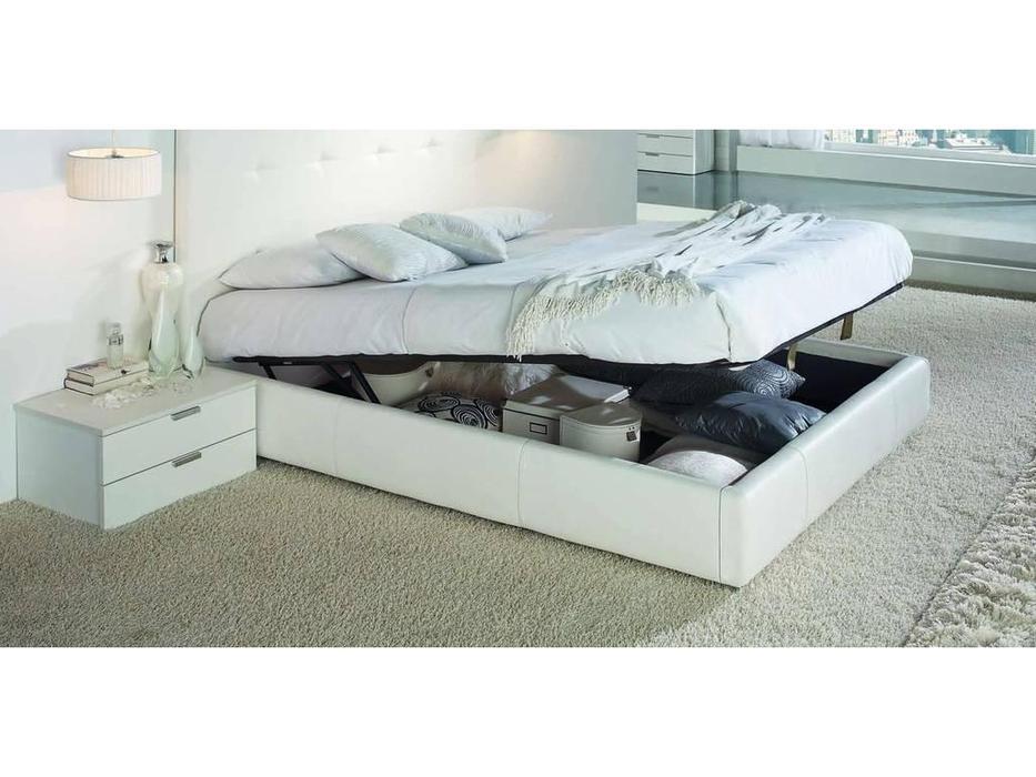 Gamamobel: Leo: кровать 150х200  с подъемным мех-м (белый)