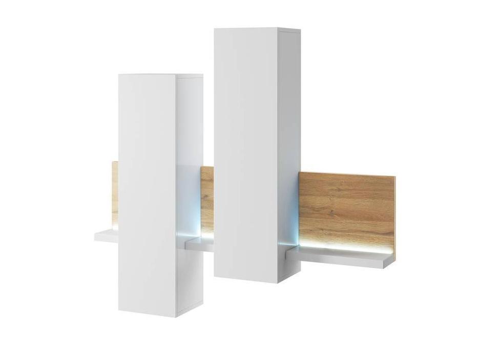 Helvetia: Bota: витрина 1 дверная  навесная (дуб grandson)