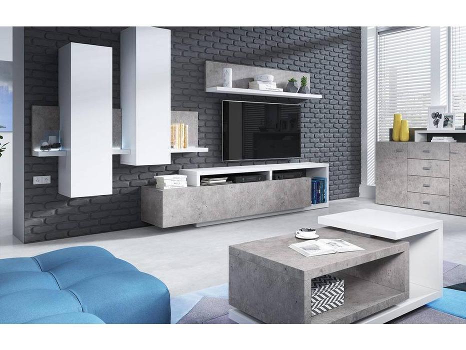 Helvetia: Bota: стенка в гостиную  (бетон colorado)
