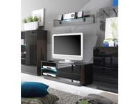 Helvetia: Togo: тумба под телевизор  (венге, стекло)