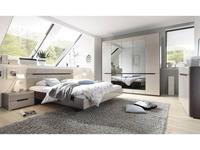 Helvetia: Hektor: спальная комната с 5-ти дверным шкафом (капучино)