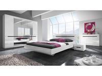 Helvetia: Hektor: спальная комната с 5-ти дверным шкафом (белый)