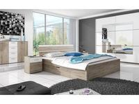 Helvetia: Beta: кровать 160х200  (дуб сан ремо)