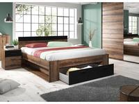 Helvetia: Beta: кровать 180х200  (дуб монастырский)