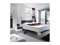 Helvetia: Vera: кровать 160х200 c 2 тумбочками  (белый,орех)