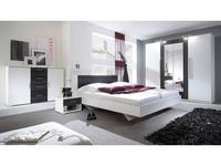 Helvetia: Vera: спальная комната со шкафом  (белый,орех)