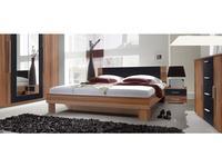 Helvetia: Vera: кровать 160х200 c 2 тумбочками  (орех красный)