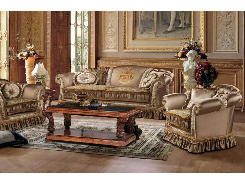 Fanbel: Рондо: диван 3-х местный  (ткань)