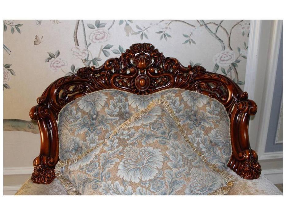 Fanbel: Шейх: кресло  (орех, ткань)