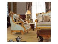 Fanbel: Альба: кресло  (золото, ткань)