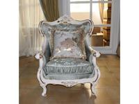 Fanbel: Зевс: кресло  (белый, ткань)