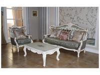 Fanbel: Зевс: комплект мягкой мебели  (белый, ткань)