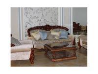 Fanbel: Шейх: диван 3-х местный  (орех, ткань)