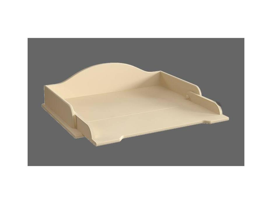 De Luxe: Любимая сказка: стол пеленальный (слоновая кость, без росписи)