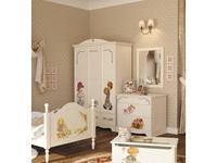5218585 шкаф 3-х дверный De Luxe: Любимая сказка