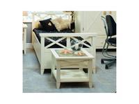 De Luxe: Океан: стол журнальный (белый)