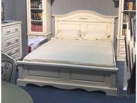 Arco Decor: Esperansa: кровать  200х200 (белый, патина- коричневая)